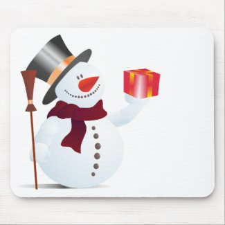 Schneemann / Snowman for Christmas / X-mas