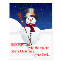 Schneemann/Snowman for Christmas/X-mas