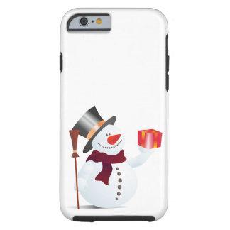 Schneemann / Snowman for Christmas / X-mas Tough iPhone 6 Case