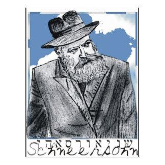 Schneersohn Postcard