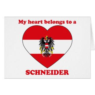 Schneider Card