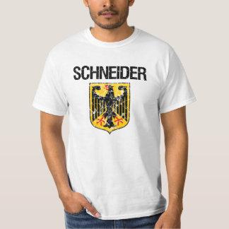 Schneider Last Name T Shirt