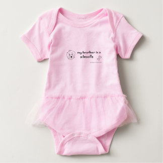 schnoodle baby bodysuit