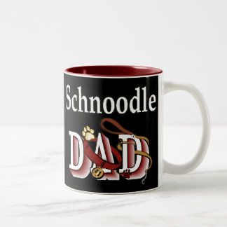 Schnoodle Dad Gifts Two-Tone Coffee Mug