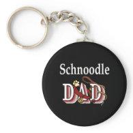 schnoodle dad Keychain