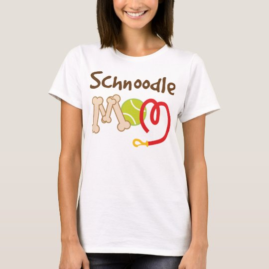 Schnoodle Dog Breed Mom Gift T-Shirt
