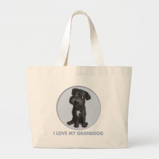 Schnoodle Granddog (negro) Bolsa