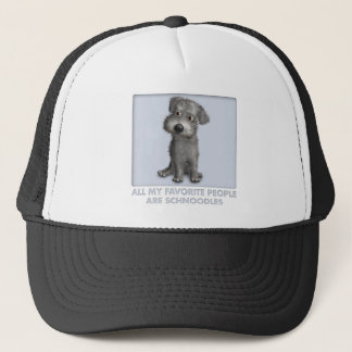 Schnoodle (Gray) Favorite Trucker Hat