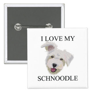 SCHNOODLE Love! Pinback Button