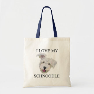 SCHNOODLE Love! Tote Bags