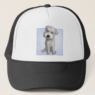 Schnoodle (White) Trucker Hat