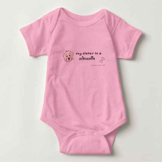 SchnoodleTanSister Baby Bodysuit