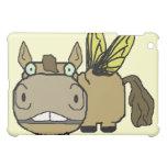 Schnozzle Horse Horsefly Cartoon iPad Mini Covers