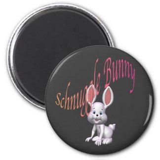 schnuggle.bunny imán redondo 5 cm