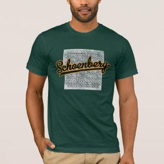 Schoenberg 12 tone matrix T-Shirt