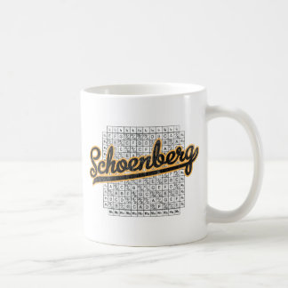 Schoenberg Coffee Mug