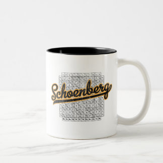 Schoenberg Two-Tone Coffee Mug