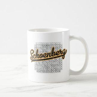 Schoenberg Classic White Coffee Mug