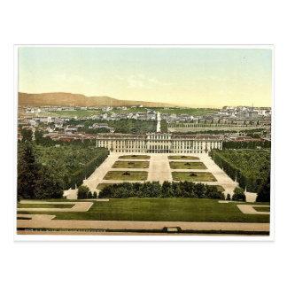 Schoenbrunn Castle (i.e., Schönbrunn), Vienna Postcard