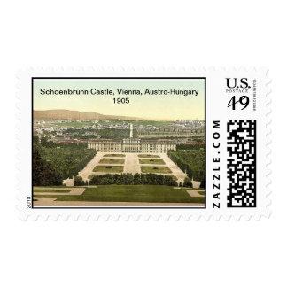 Schoenbrunn Castle, Vienna, Austro-Hungary 1905 Postage