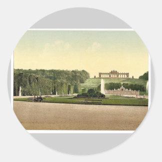 Schoenbrunn (i.e., Schönbrunn)Park, Vienna, A Sticker