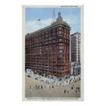 Schofield Building, Cleveland Ohio 1920s Vintage Posters