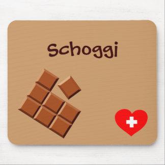 Schoggi (Swiss chocolate) mousepad