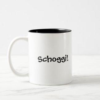 ¡Schoggi! Taza suiza del chocolate caliente con la