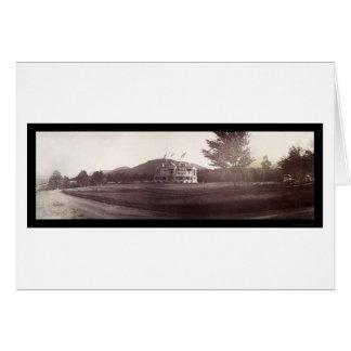 Schoharie Tannersville New York Photo 1898 Card