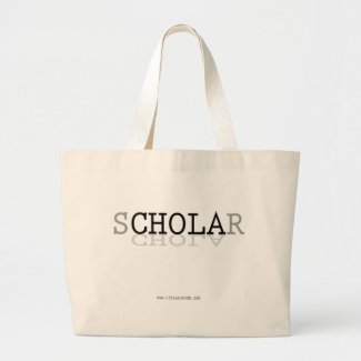 sCHOLAr Defying Stereotypes Large Tote Bag