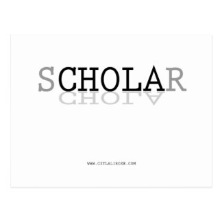 sCHOLAr Defying Stereotypes Postcard