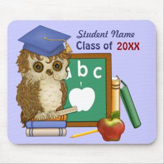 Scholar Owl Graduation 2018 Mouse Pad