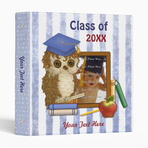Scholar Owl - Graduation Binders