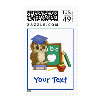 Scholar Owl Stamps