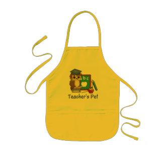 Scholar Owl-Teachers Pet Kids' Apron