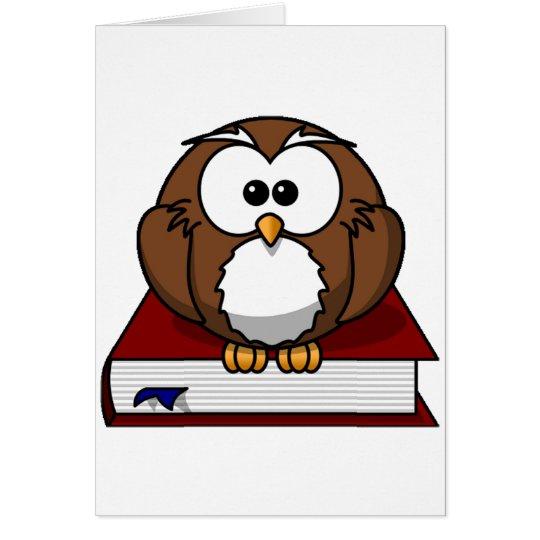 Scholarily Owl Card