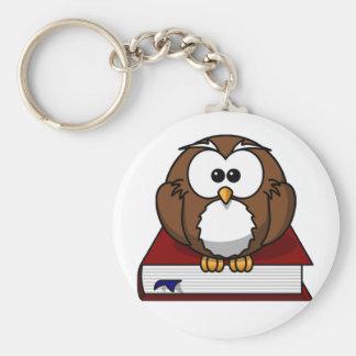 Scholarily Owl Keychain