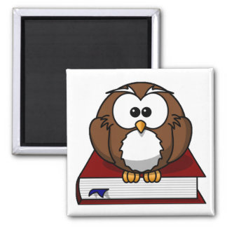 Scholarily Owl Magnet