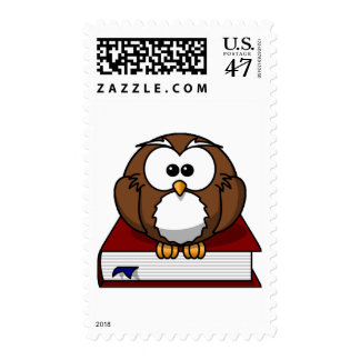 Scholarily Owl Postage
