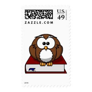 Scholarily Owl Stamp