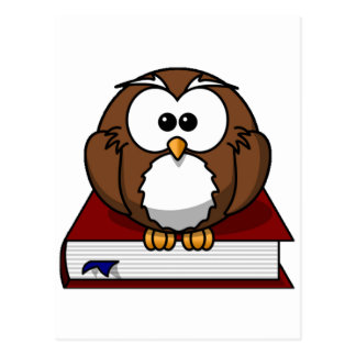 Scholarily Owl Post Cards