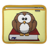 Scholarly Owl Sleeve For iPads