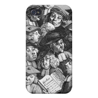 Scholars at a Lecture, 20th January 1736-37 Cover For iPhone 4
