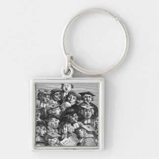 Scholars at a Lecture, 20th January 1736-37 Keychain