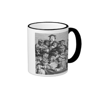 Scholars at a Lecture 20th January 1736-37 Coffee Mugs