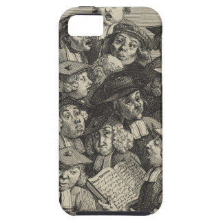 Scholars at a Lecture by William Hogarth iPhone SE/5/5s Case