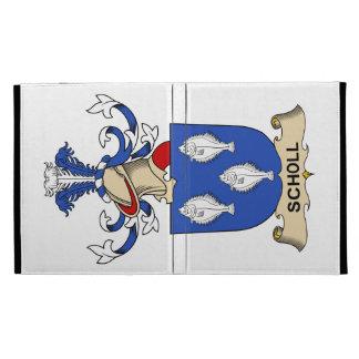 Scholl Family Crest iPad Case