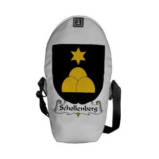 Schollenberg Family Crest Messenger Bags