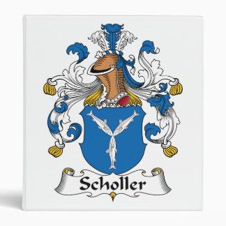 Scholler Family Crest Binder