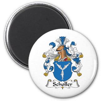 Scholler Family Crest Fridge Magnet